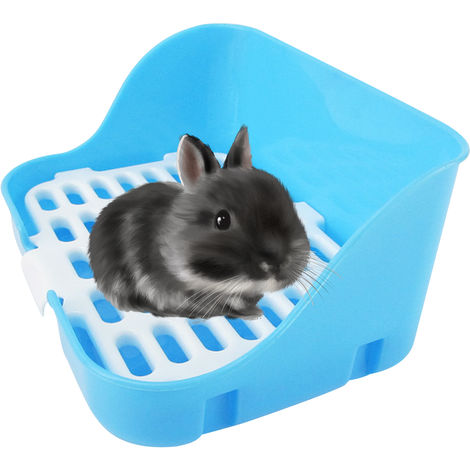 Animal Litter Potty Trainer Cage Toilet Corner Litter Bedding Box Square Pet Pan