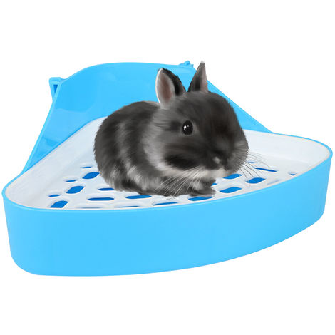 Animal Litter Potty Trainer Toilet Corner Litter Bedding Box Pet Pan