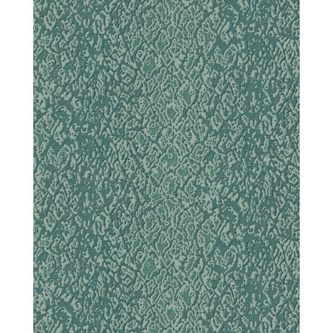 Animal pattern wallpaper wall Profhome DE120127-DI hot embossed non-woven wallpaper embossed with exotic design shiny blue beige 5.33 m2 (57 ft2)