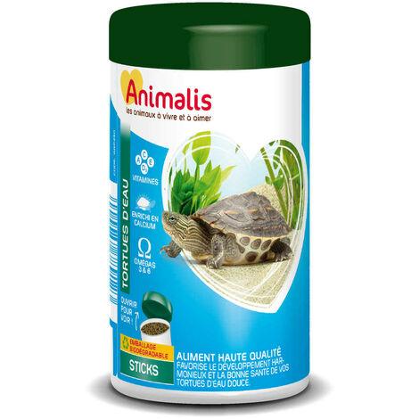 Animalis - Aliments Mini Bâtonnets pour Tortues Aquatiques - 1,2L