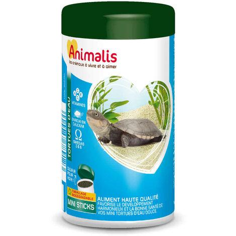Animalis - Aliments Mini Bâtonnets pour Tortues Aquatiques - 250ml