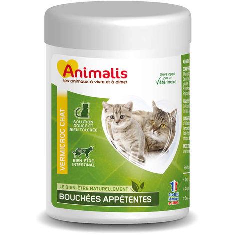 """main image of """"Animalis - Bouchées Appétentes Vermicroc pour Chat - 40g"""""""