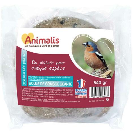 Animalis - Boule de Graisse Géante pour Oiseaux des Jardins - 540g