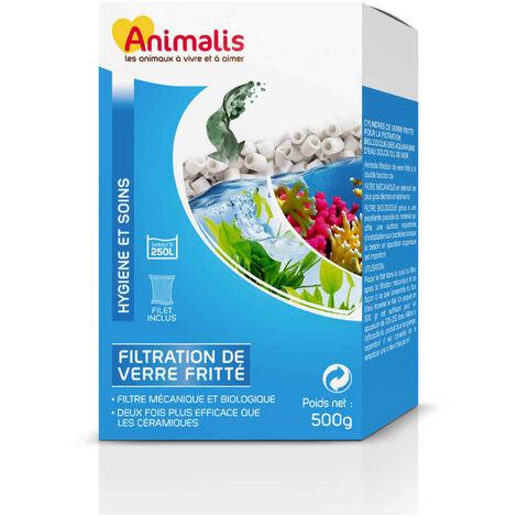 Animalis - Filtration de Verre Fritté pour Aquarium - 500g