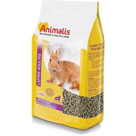 Animalis - Granulés pour Lapin Adulte - 12,5Kg