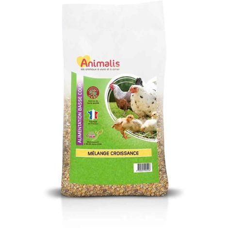 Animalis - Mélange Croissance pour Basse Cour - 5Kg