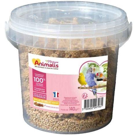 Animalis Nature - Balle de Millet pour Oiseau - 140g