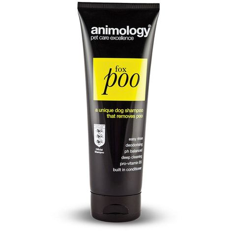 Animology Fox Poo Liquid Dog Shampoo (250 ml) (May Vary)