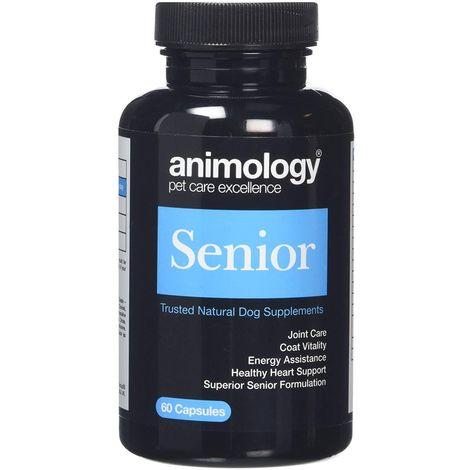 Animology Senior Natural Dog Supplements (60 Capsules) (May Vary)