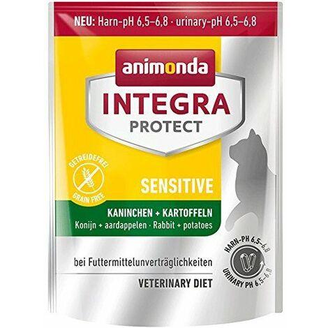 Animonda Integra Protect Sensitive avec lapin et pommes de terre Régime chat Doublure secs à aliments Allergie