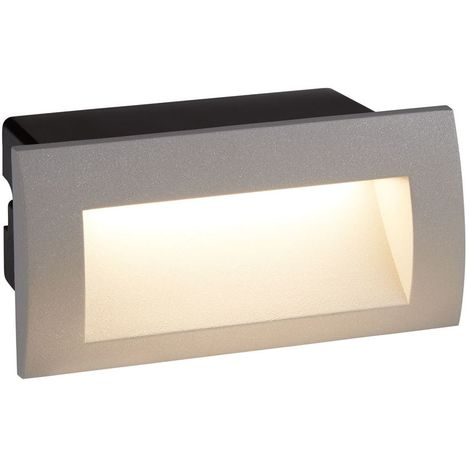 ANKLE LED INDOOR/OUTDOOR RECESSED RECTANGLE, GREY