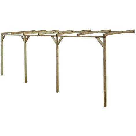 Anlehn-Pergola 2 x 6 x 2,2 m Holz