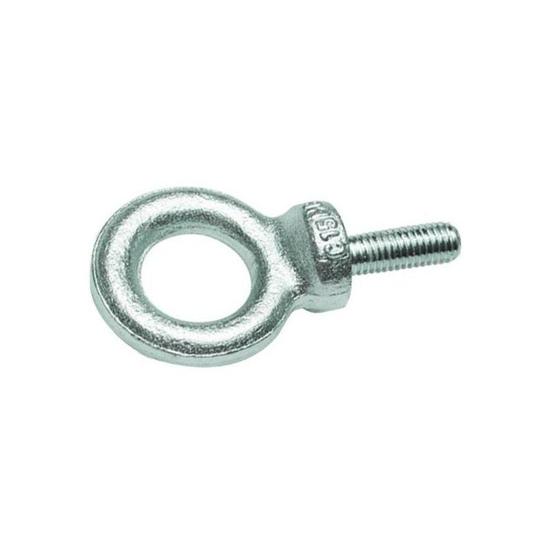 Vis Express - ANNEAU DE LEVAGE MALE M12 ACIER ZING BLANC   Conditionnement: 100 pieces