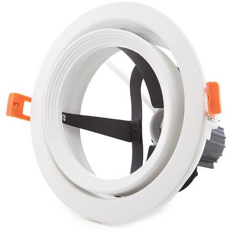 Anneau Downlight Par 30 E27 (Sans Lampe)Blanc (KD-549-ARO-PAR30-E27)