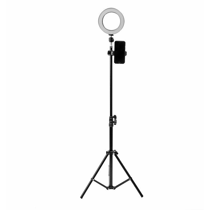 Augienb - LED Lumière Anneau 5500K Dimmable 3 modes d'éclairage avec 160cm Support