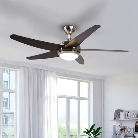 Anneka LED ceiling fan with light