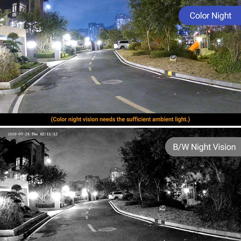 Kit Vidéosurveillance Extérieur 8CH 1080p NVR +2 MP Caméras U2013 Kit 4 Caméras  +1TB Disque Dur   N48PI+I61FB*4+1TB