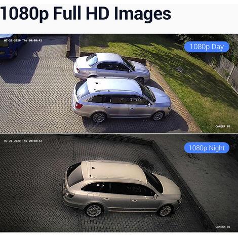 ANNKE CCTV Camera System 16 Channel 1080P Lite H.264+ DVR and 12×1080P HD Weatherproof Bullet Cameras