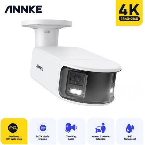 """main image of """"SANNCE video de vigilancia 4CH TVI DVR grabadora + 2 cámara HD 720P exterior visión nocturna de 20m"""""""
