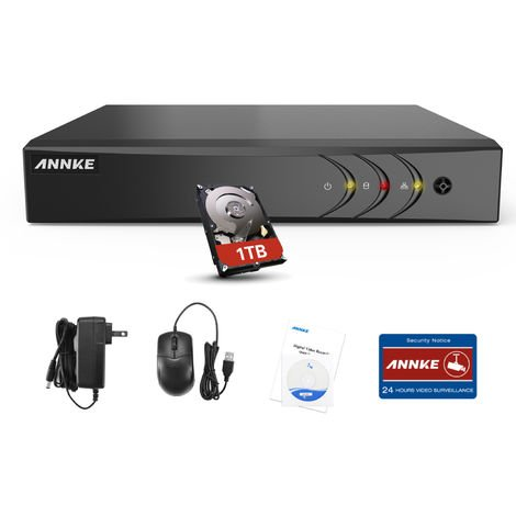 ANNKE DVR 1080p lite 8-channel - 0TB hard drive included