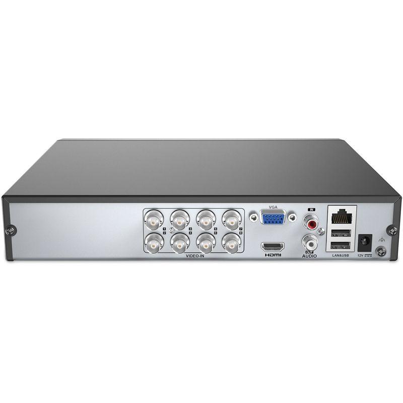 ANNKE PIR DVR Syst/ème Kit de Surveillance S/écurit/é 8CH 3MP 5-en-1 H.265 avec HDD 2TB et 8 HD 1080P cam/éras de vid/éosurveillance Bullet,D/étection PIR avec Alarme LED Clignotante