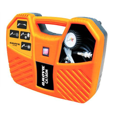 Anova Compresor aire portátil 8 Bar + Maletín CA180M