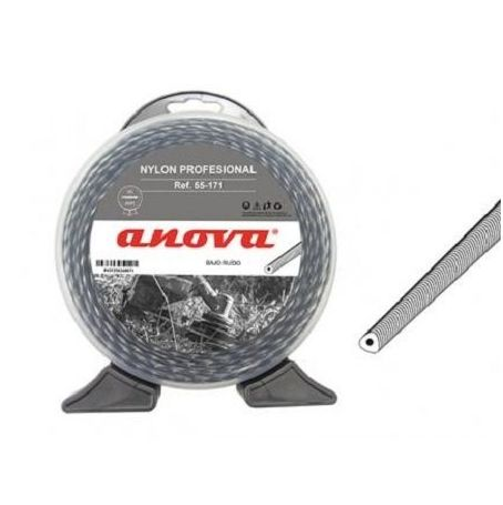 Anova-Nylon desbrozadora profesional Cyclone 3,00mm x 50mt