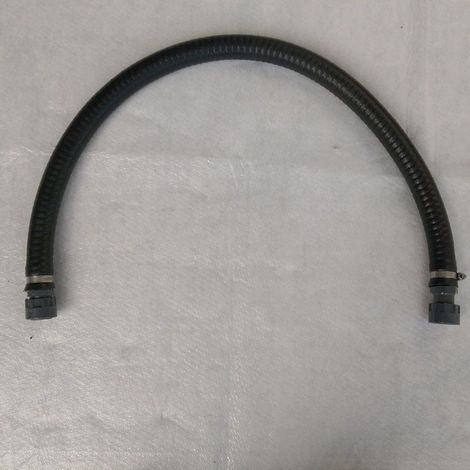 Anschluss-Schlauch flexibel,1 m, 1 m, mit PVC-Verschraubungen 1 Zoll IG