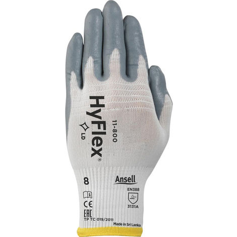 Ansell Handschuh HyFlex 11-800 Gr. 9
