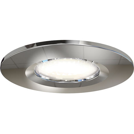 Ansell Prism LED Fire Rated Downlight Chrome Bezel