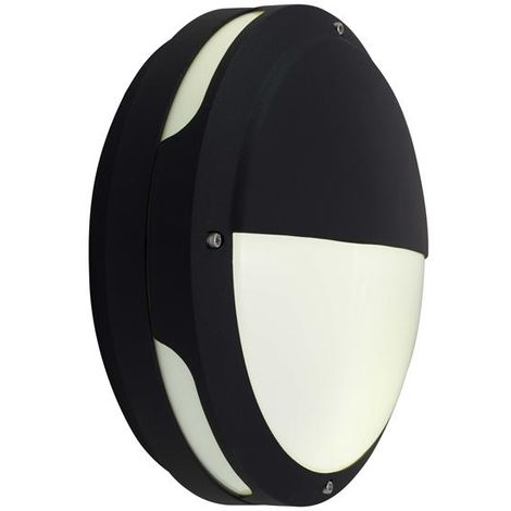 Ansell Tardo 20W LED Black Bulkhead Light With MW Sensor 4000K (ATALED/MWS)