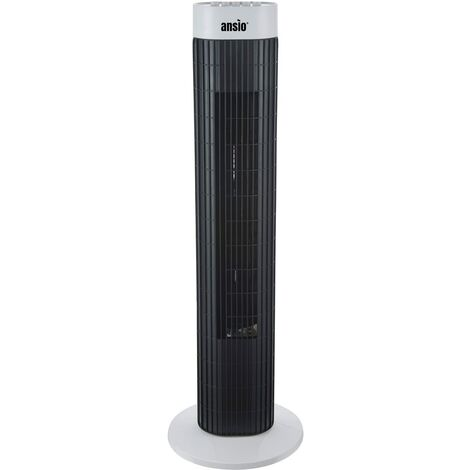 ANSIO Tower Fan with Remote For Home and Office, with 2 Year Warranty -