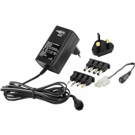 Ansmann 1001-0024-UK ACS48 NiMH/NiCd 4-8 Cell Battery Pack Charger