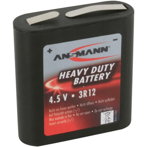 Ansmann 3R12 Flach-Batterie Zink-Kohle 1700 mAh 4.5V 1St. Y731861