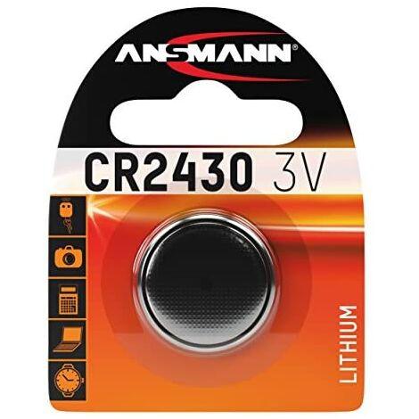 Ansmann 5020092 CR 2430 - Piles bouton sous blister, pile au lithium - 3V