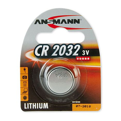 Ansmann CR 2450 - Single-use battery - CR2450 - Lithium-Ion (Li-Ion) - 3 V - 1 pièce(s) - Nickel (5020112)