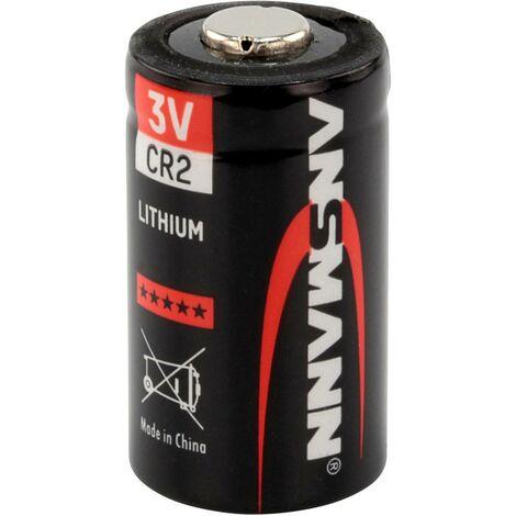 Ansmann CR2 Fotobatterie CR 2 Lithium 750 mAh 3V 1St. S193711