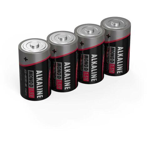 Ansmann LR20 Red-Line Mono (D)-Batterie Alkali-Mangan 1.5V 4St. Y731051