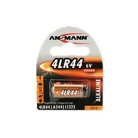 Ansmann Pile alcaline 4 LR44 blister de 1 (1510-0009)