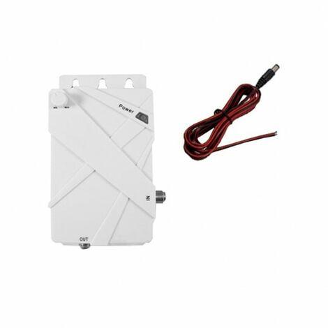 ANTARION Amplificateur avec Filtre 4G pour Antenne Omnidirectionnelle