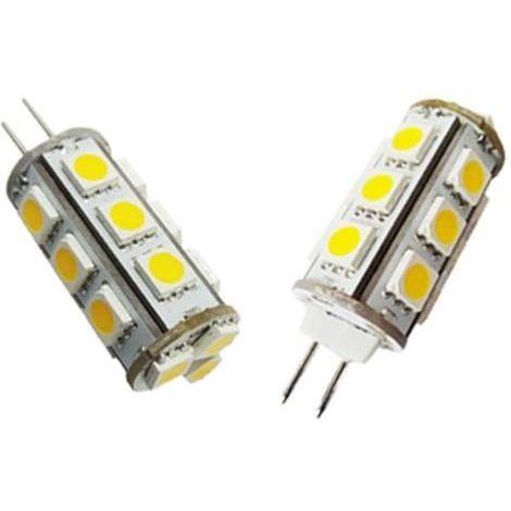 Antarion Ampoule 15 leds type G4 blanc chaud