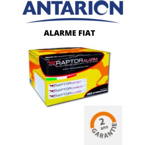 ANTARION - Pack complet Système alarme RAPTOR pour FIAT