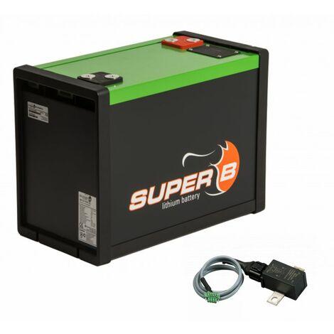 ANTARION SUPER B Batterie Lithium 160AH idéal Camping Car