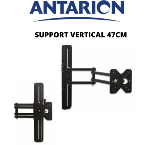 ANTARION - Support TV vertical à fixer 47cm