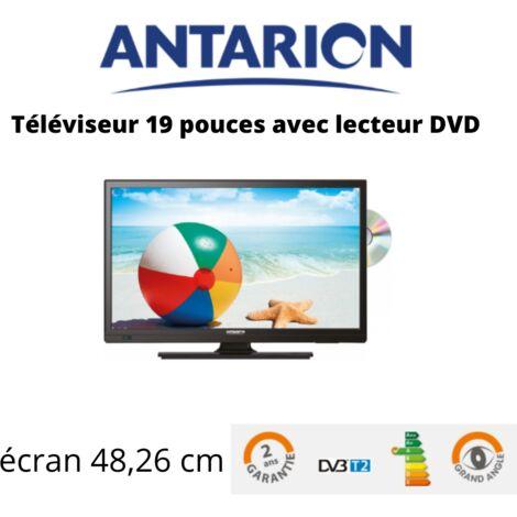 """main image of """"Antarion Télévision TV + DVD LED 19' HD LED 12V/24V /220V camping car"""""""