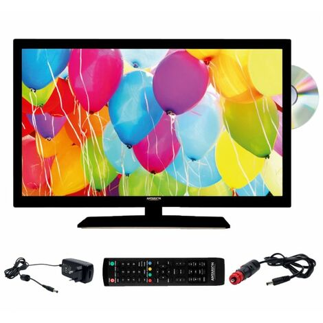 ANTARION TV LED 22 55cm Téléviseur 4K DVD intégré Compatible 12V