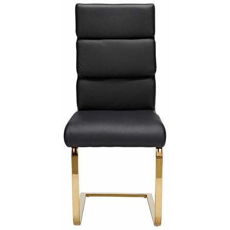 Antber Dining Chair Black (Pack of 2)