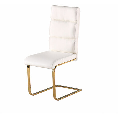 Antber Dining Chair White (Pack of 2)
