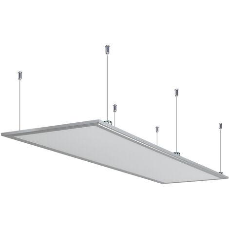 Anten 60W Panneau Dalle LED 30×120CM Dalle LED Lumineuse Plafond Blanc Froid 6000-6500K