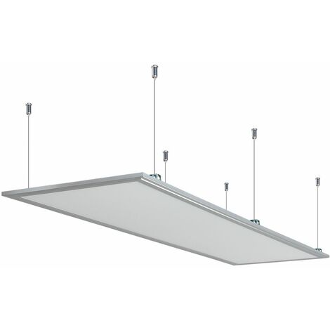 Anten 60W Panneau Dalle LED 30×120CM Dalle LED Lumineuse Plafond Blanc Neutre 4000-4500K